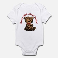 Beary Wild About Books Infant Bodysuit