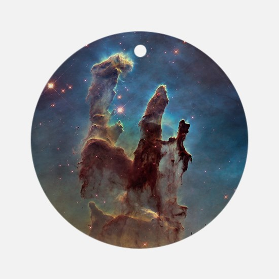 Pillars Of Creation Ornament (round)