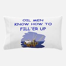 oil men Pillow Case