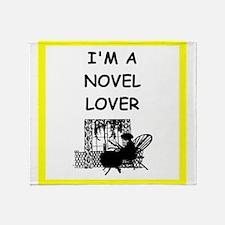 novel Throw Blanket