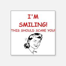 smiling Sticker
