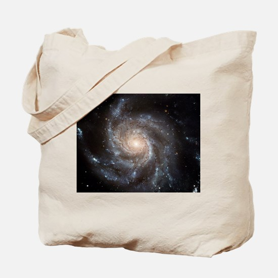 Spiral Galaxy M101 Tote Bag