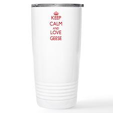 Unique Geese Travel Mug