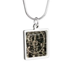 Be This Guy! Silver Square Necklace