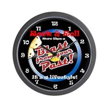 Blast From Your Past Lifestyle Wall Clock