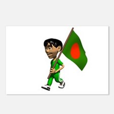 Bangladesh Boy Postcards (Package of 8)