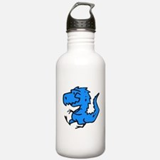 Blue Dinosaur Water Bottle