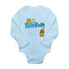 Cute Toddler monkey Long Sleeve Infant Bodysuit