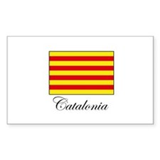Catalonia - Flag Rectangle Decal
