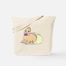 Dinosaur Hatching Tote Bag
