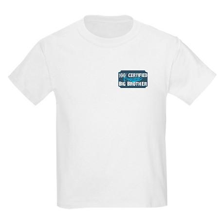 FRONT/BACK organic big brother Kids Light T-Shirt