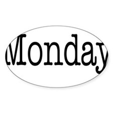 Cute Days of the week Decal