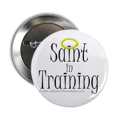 Saint in Training Button (100 pk)