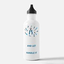 LET PAPA HANDLE IT... Water Bottle