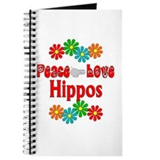 Peace Love Hippos Journal