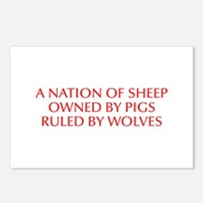 A nation of sheep owned by pigs ruled by wolves-Op