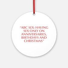 ABC sex Having sex only on Anniversaries Birthdays