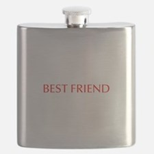 Best friend-Opt red Flask