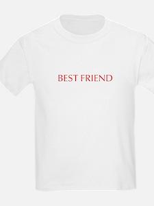 Best friend-Opt red T-Shirt