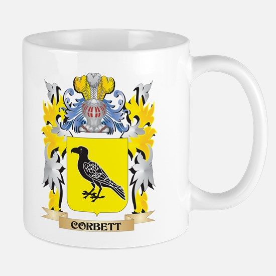 Corbett Coat of Arms - Family Crest Mugs