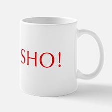 Fo sho-Opt red Mugs