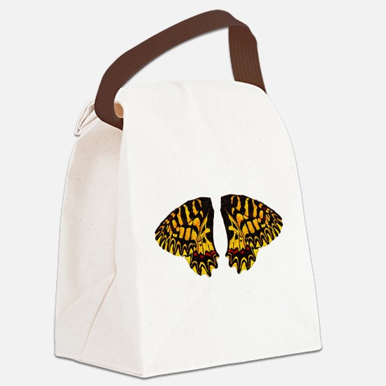 Southern Festoon Butterfly Canvas Lunch Bag