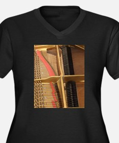 Inside a Piano Plus Size T-Shirt