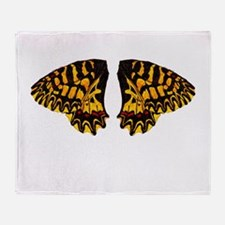 Southern Festoon Butterfly Throw Blanket