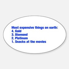 most expensive things Decal