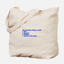 most expensive things Tote Bag