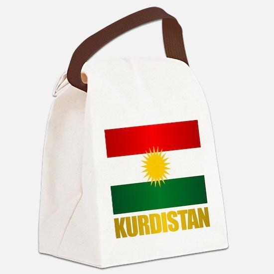 Kurdistan Canvas Lunch Bag