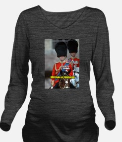HRH Duke of Edinburg Long Sleeve Maternity T-Shirt