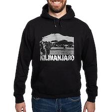 Kilimanjaro Elephant Eroded Hoodie