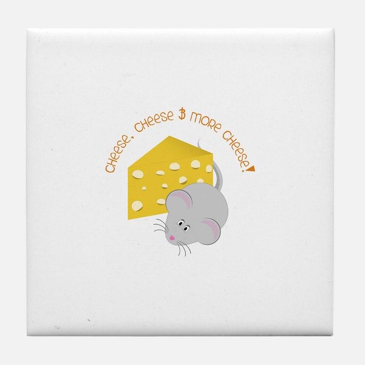 Cheese Tile Coaster