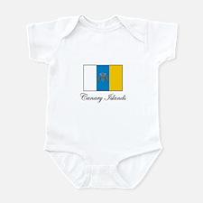 Canary Islands Flag Infant Bodysuit
