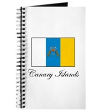 Canary Islands Flag Journal