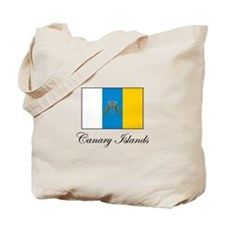 Canary Islands Flag Tote Bag
