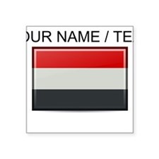Yemen Flag (Custom) Sticker