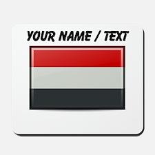 Yemen Flag (Custom) Mousepad