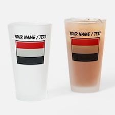 Yemen Flag (Custom) Drinking Glass