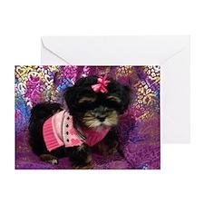 Cute Puppy Greeting Card