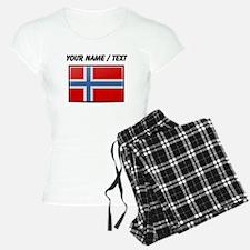 Norway Flag (Custom) Pajamas