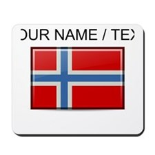 Norway Flag (Custom) Mousepad