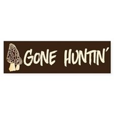 Gone Huntin' Bumper Bumper Sticker