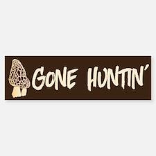 Gone Huntin' Bumper Bumper Stickers
