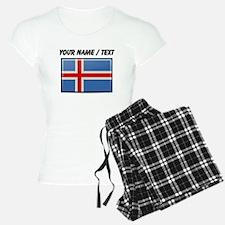 Iceland Flag (Custom) Pajamas