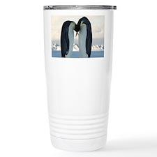 Kissing Penguins Travel Mug