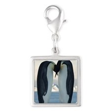 Kissing Penguins Charms