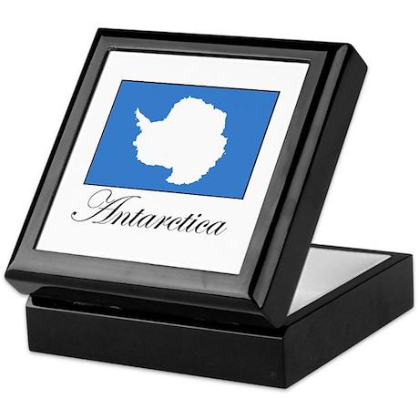 Antarctica - Flag Keepsake Box