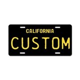 California 1963 License Plates